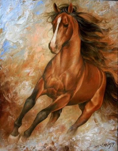 Брагинский А.А. Бегущая лошадь.