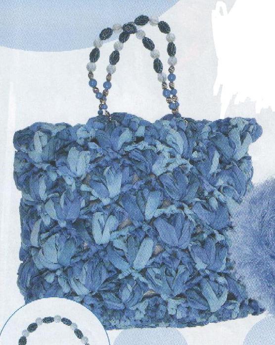 Шкатулка вязания, Бежевая сумочка, Крючок, вязать, схемы,спицы.
