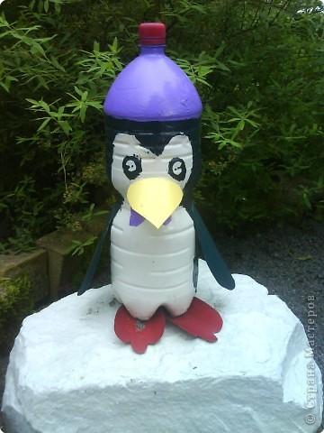 Как сделать пингвинов из пластиковой бутылки своими