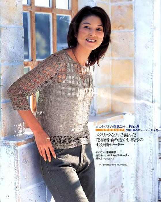 Китайские модели по вязанию