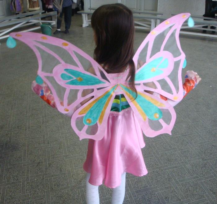 Как и из чего сделать крылья бабочки своими руками 57