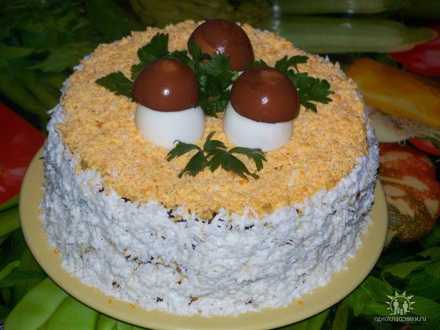 Рецепты с фото торт из печени