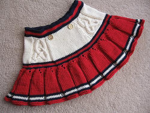 вязание для детей. вязание спицами.  Юбочка. юбка.