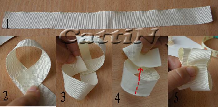 Как сделать декоративные банты