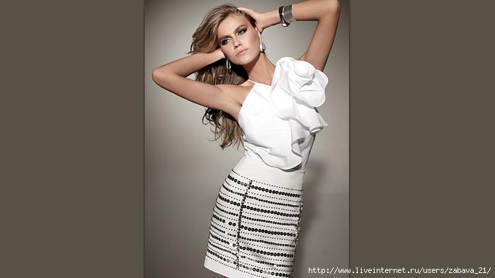 белая блузка киев купить