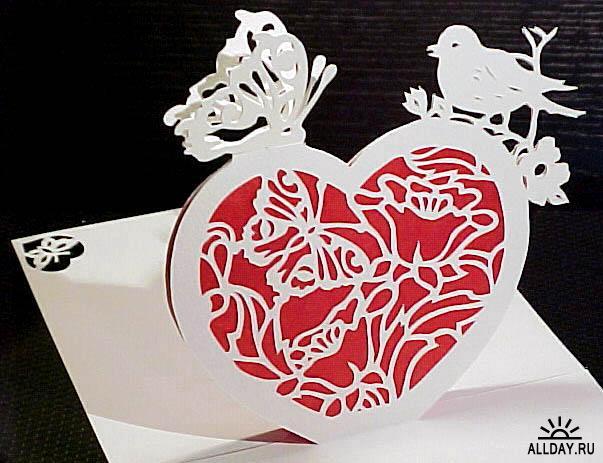 125 штук размер: 5.45 Мб Галерея 3D оригами, pop-up открыток, киригами: готовых схем нет - это скорее идеи для...