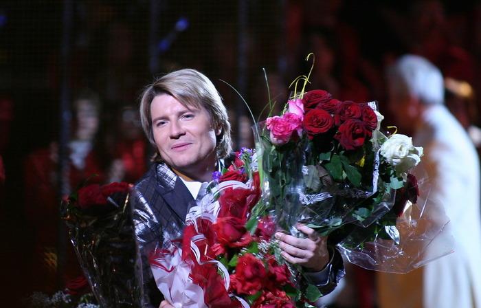 Николай басков цветы