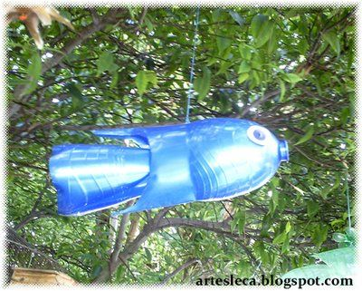 Рыбки из пластиковых бутылок своими руками мастер класс