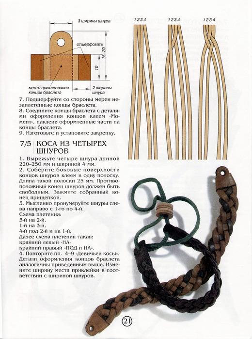 Плетение из шнуров руками