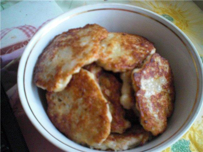 Куриные драники рецепт с фото