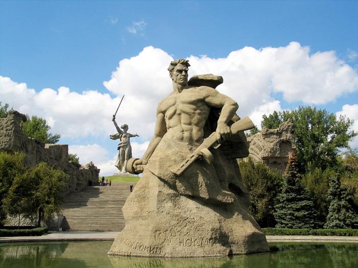 Волгоград - После войны, большие картинки на...