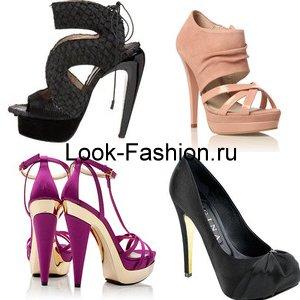 Модные туфли 2 16: фото женские новинки весна лето на каблуке