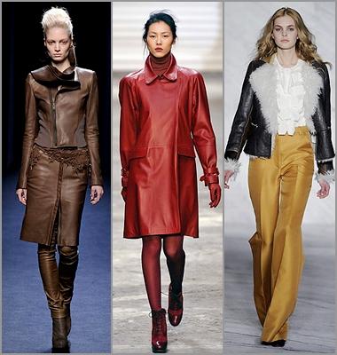 Вещи из кожи провозглашены мировыми дизайнерами еще несколько сезонов назад.  Вот и этой осенью кутюрье снова...
