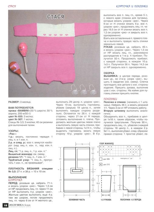 Вязание спицами форма вязаний
