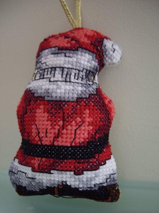 """Часть 1. Часть 2. Рождественское деревце.  Вышивка крестом.  Буклет  """"Снеговики круглый год """"."""