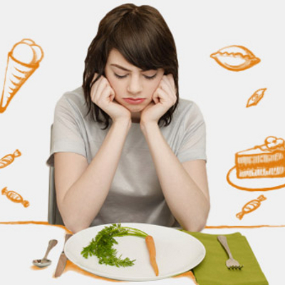 Еда спасает от одиночества