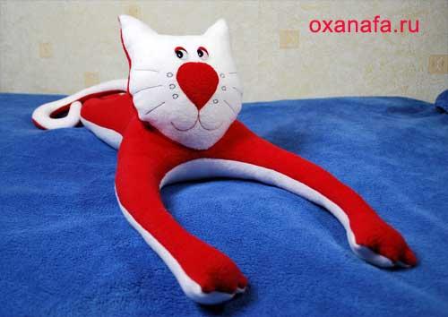 Мягкая игрушка + своими руками котенок. Эту картинку лучше посмотреть