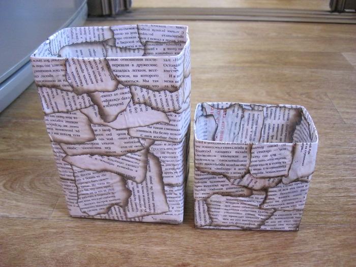 Сделать коробку для мелочей своими руками