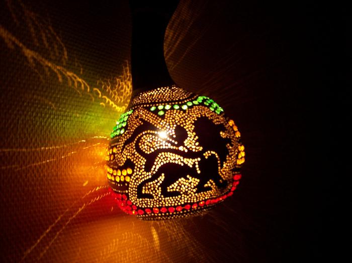 Идеи светильников...из тыквы и кокоса. Обсуждение на LiveInternet - Российский Сервис Онлайн-Дневников
