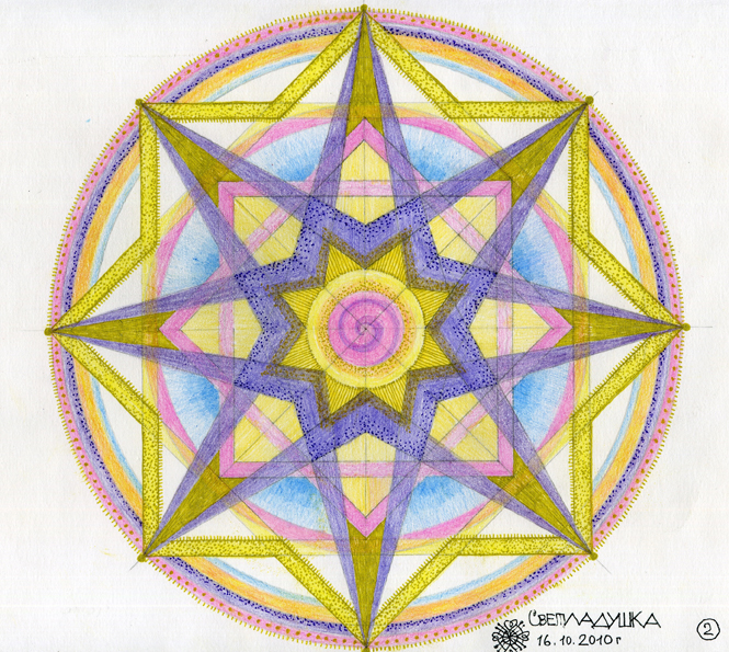 рисунки в круге