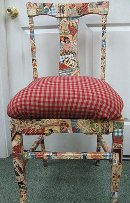 Елена-Елена.  Его величество- стул!  Идея для рестариции любого старого , убитого стула!  Фотка из инета.