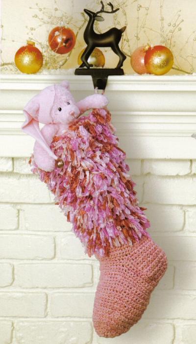 ...Christmas stockings / Вязаные рождественские сапожки 2007, JPG.