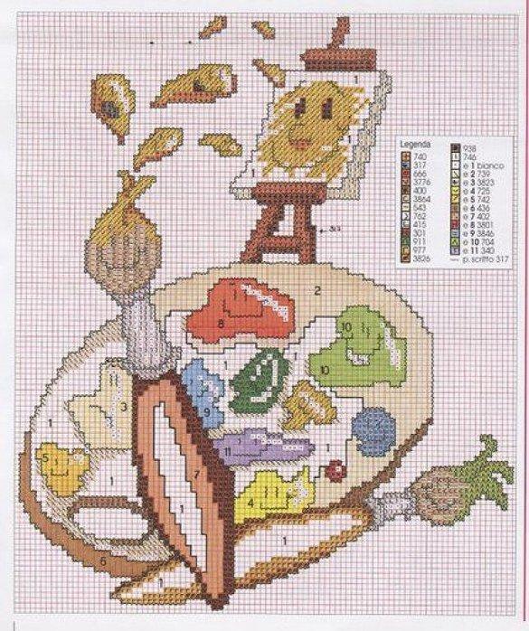 Схемы вышивок журнал сюзанна 66