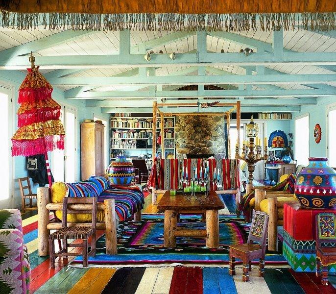 Как можно оформить свой домик в индийском стиле.