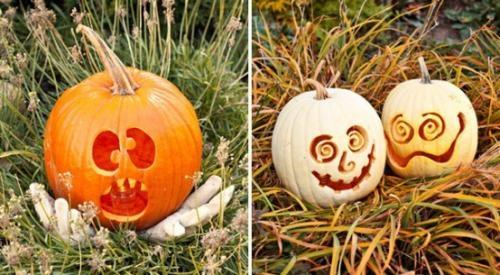 Тыква на Хэллоуин.