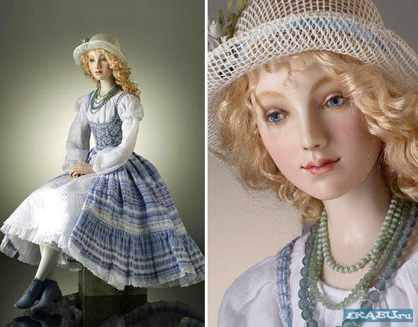 Красивые реалистичные куклы от Alexandra Kokinova.