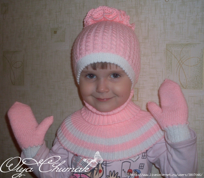Вязание шапки своими руками.