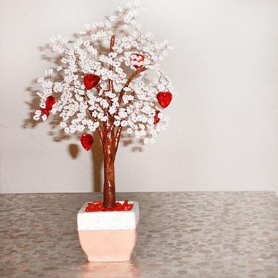 Дерево любви (из бисера) 35 см. Прочитать целикомВ.