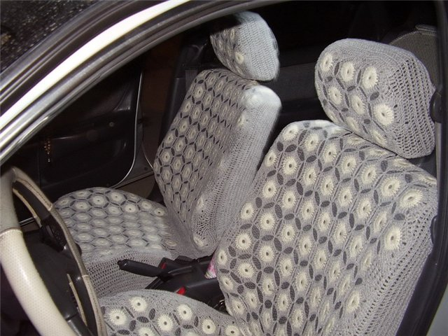 Чехлы в машину своими руками