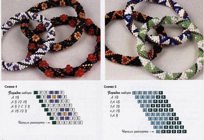 узоры для плетения бисером эксклюзивные - Всемирная схемотехника.