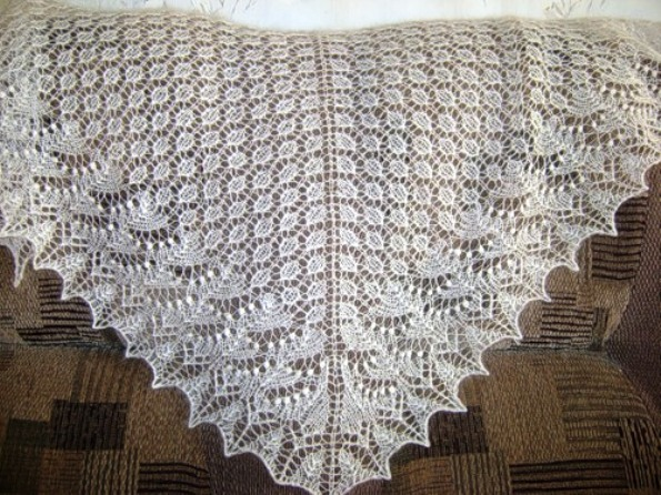 Вязание Пуховых Платков