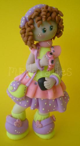Как сделать куклу из холодного фарфора своими руками
