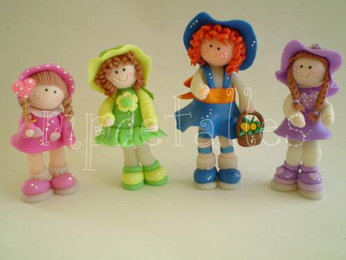 Куклы из холодного фарфора своими руками мастер класс видео