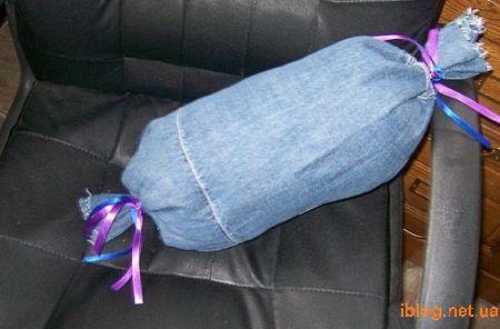 оч. умелые ручки.  Что можно сделать из старых джинсов.