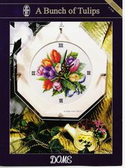 Часы с тюльпанами.