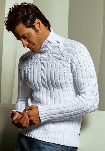 спицами мужские свитера в