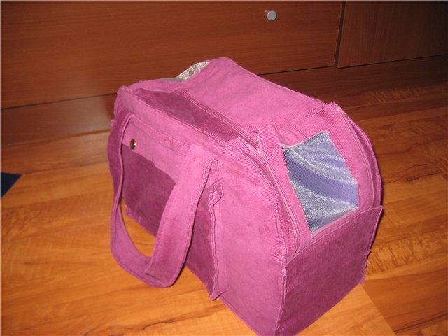 Как пошить сумку переноску для кошки своими руками