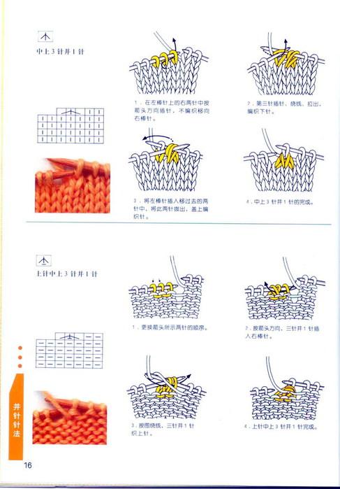 В копилку узоров - мотивы крючком.Японские книжки по рукоделию.