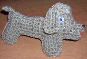 схема плетение собачки.