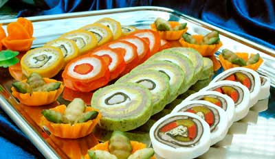Рецепты закусок праздничные закуски закуски к праздничному столу: салат...