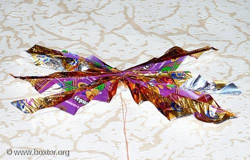 поделки из фантиков от конфет Мастер.