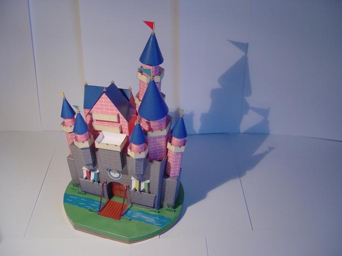 Поделки дворец из бумаги 72