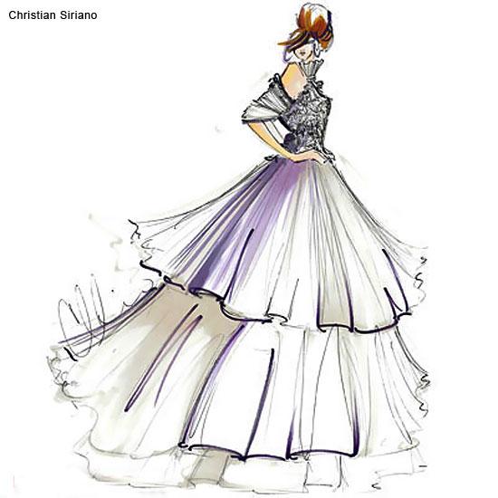 Как рисовать красивые платья