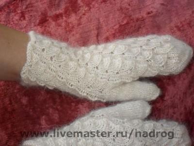 Варежки, митенки, перчатки ручной работы.  Ярмарка Мастеров - ручная...