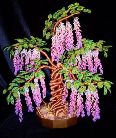 12 апр 2012 Дерево из бисера Инь и Янь Мастер-класс от mari-m26 Метки: рукоделие бисероплетение дерево мастер-класс.