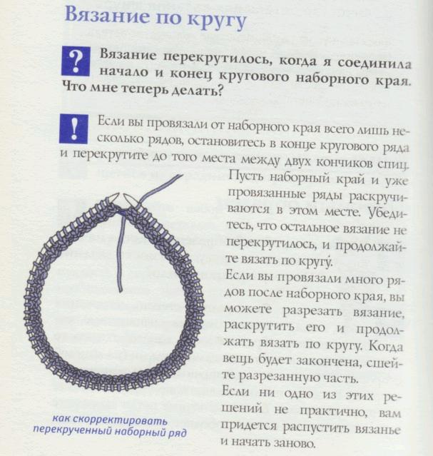 Вязание шапок круговыми спицами схемы